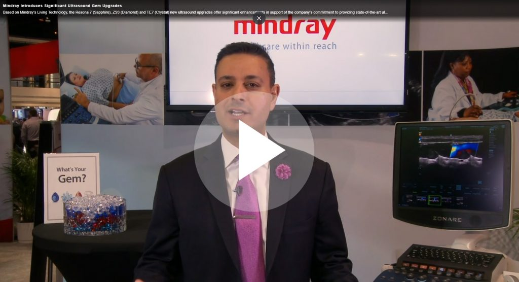 Mindray Introduces Significant Ultrasound Gem Upgrades