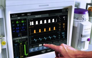 Anesthesia Machine Screen Menu Mindray