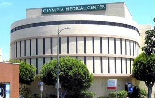 Front view of Olympia Medical Center