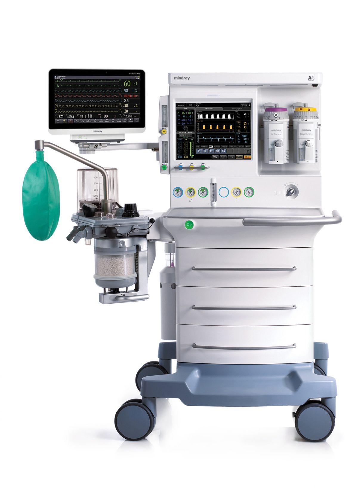Gas Monitoring Anesthesia Machine